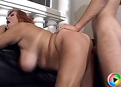 Fresh cock for a horny old babe